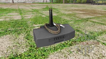 Weight Fendt for Farming Simulator 2017