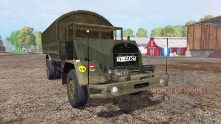 MAN 630L2 AE v0.1 for Farming Simulator 2015