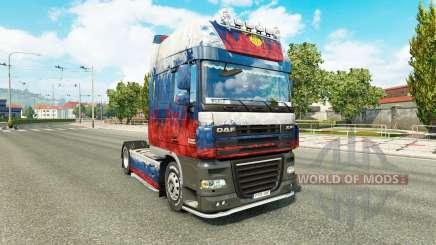 Skin Russia tractor DAF for Euro Truck Simulator 2