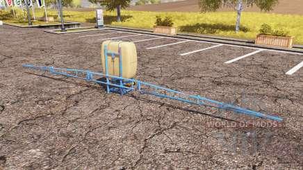 Pilmet sprayer v2.0 for Farming Simulator 2013