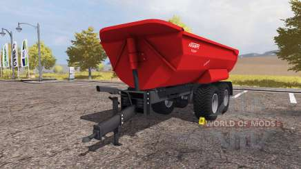 Krampe Halfpipe HP 20 v1.1 for Farming Simulator 2013