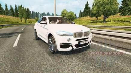 BMW X6 M50d (F16) for Euro Truck Simulator 2