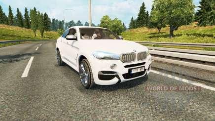 BMW X6 M50d (F16) for Euro Truck Simulator 2