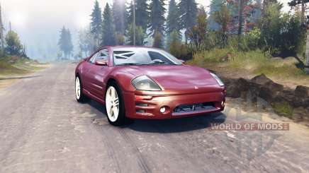 Mitsubishi Eclipse GTS 2003 for Spin Tires
