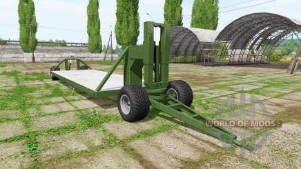 Trailer platform for Farming Simulator 2017