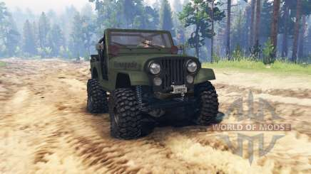 Jeep CJ-7 Renegade 1976 for Spin Tires