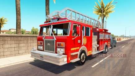 Emergency vehicles USA traffic for American Truck Simulator