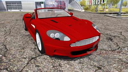 Aston Martin DBS Volante 2010 for Farming Simulator 2013