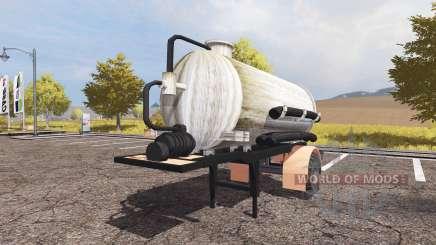 Manure semitrailer for Farming Simulator 2013