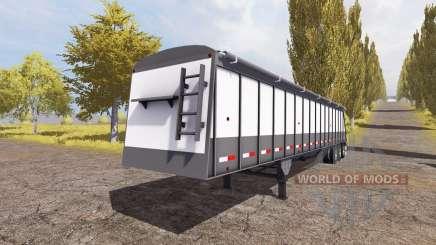 Cornhusker 800 3-axle hopper trailer for Farming Simulator 2013