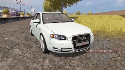 Audi A4 3.0 TDI quattro (B7) v1.1 for Farming Simulator 2013