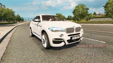 BMW X6 M50d (F16) v2.0 for Euro Truck Simulator 2