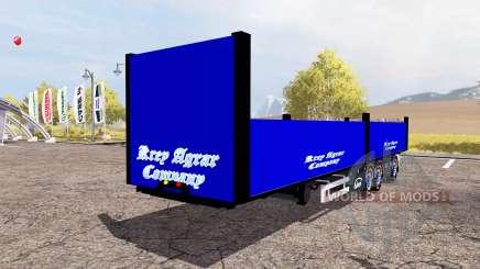 Ekeri bale semitrailer for Farming Simulator 2013