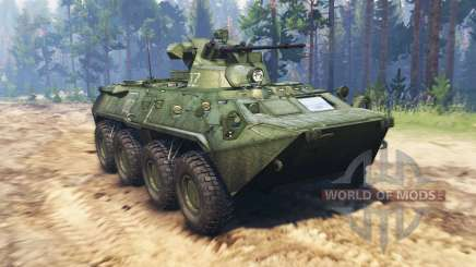 BTR 82A (GAZ-59034) for Spin Tires