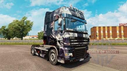 Skin Fantasy Disturbed for tractor DAF for Euro Truck Simulator 2