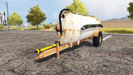 Rusty slurry tanker for Farming Simulator 2013