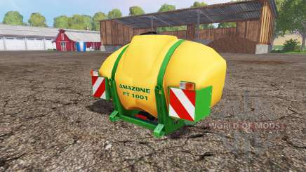 AMAZONE FT 1001 v1.1 for Farming Simulator 2015