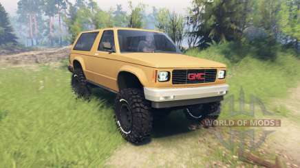 GMC Jimmy 1994 for Spin Tires