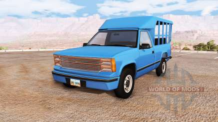 Gavril D-Series thai minibus v1.0a for BeamNG Drive