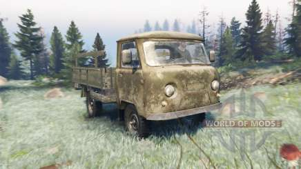 UAZ 452Д for Spin Tires