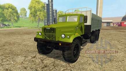 KrAZ 257Б1 for Farming Simulator 2015