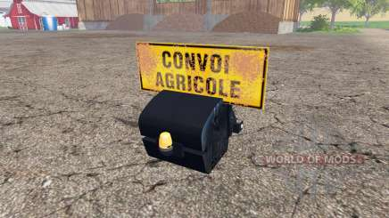 Weight New Holland for Farming Simulator 2015