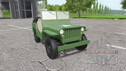Jeep Willys MB 1942 for Farming Simulator 2017