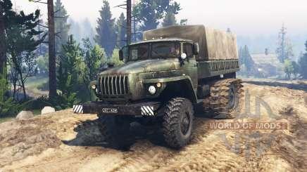 Ural 4320 marsh buggy v1.1 for Spin Tires