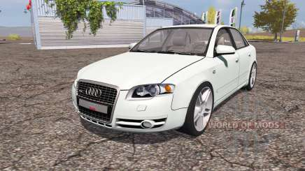 Audi A4 3.0 TDI quattro (B7) for Farming Simulator 2013