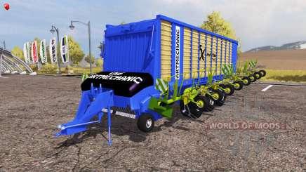 Krone ZX 550 GD rake ArtMechanic v3.5 for Farming Simulator 2013