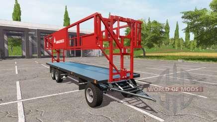 ANNABURGER bale trailer for Farming Simulator 2017