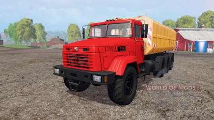 KrAZ 7140Н6 for Farming Simulator 2015