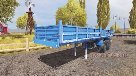 Tipper semitrailer for Farming Simulator 2013