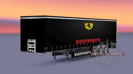 Skins Formula 1 teams for semi for Euro Truck Simulator 2
