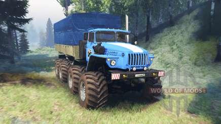 Ural 6614 mega v2.0 for Spin Tires