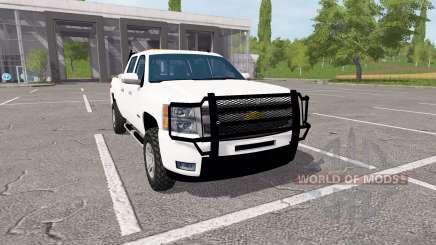 Chevrolet Silverado Z71 Crew Cab for Farming Simulator 2017