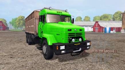 KrAZ 64431 v1.2 for Farming Simulator 2015