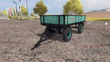 Tractor trailer v2.0 for Farming Simulator 2013