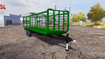 Straw trailer v1.1 for Farming Simulator 2013