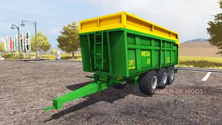 ZDT Mega 25 for Farming Simulator 2013