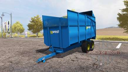 Harry West 10T Silage for Farming Simulator 2013