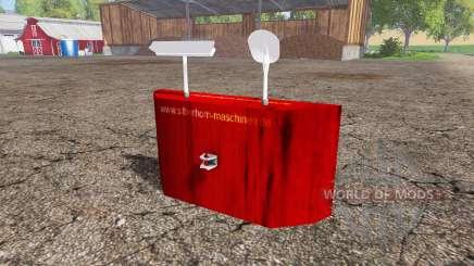 Rear weight for Farming Simulator 2015