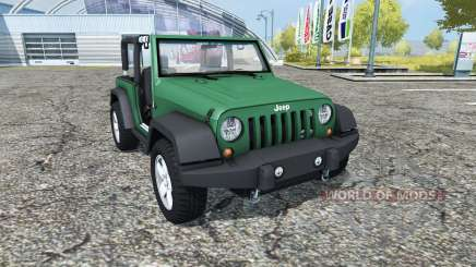 Jeep Wrangler (JK) v0.95 for Farming Simulator 2013