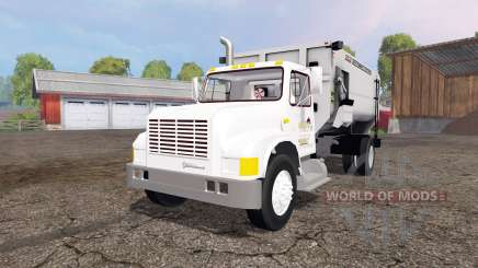 International 4700 1991 feed truck v2.0 for Farming Simulator 2015