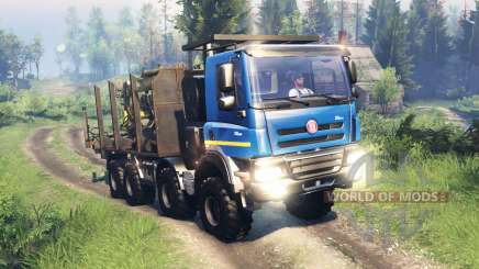 Tatra Phoenix T 158 8x8 v11.0 for Spin Tires
