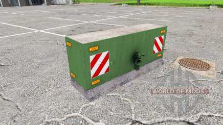 Concrete counterweight for Farming Simulator 2017