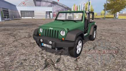 Jeep Wrangler (JK) v1.1 for Farming Simulator 2013