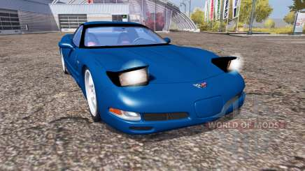 Chevrolet Corvette Z06 (C5) for Farming Simulator 2013