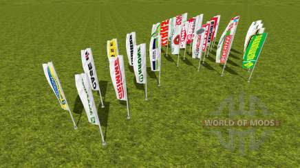 Flags pack for Farming Simulator 2015