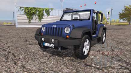Jeep Wrangler (JK) v1.0 for Farming Simulator 2013